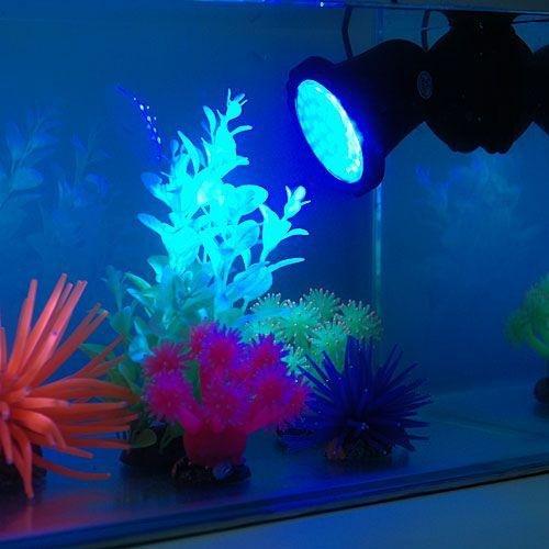 Deckey lampada acquario 36 led faro faretto spot light led for Lampada acquario