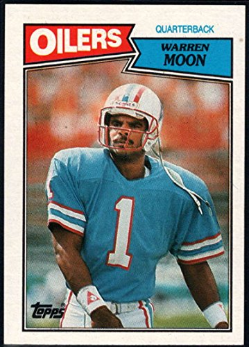 Football NFL 1987 Topps #307 Warren Moon NM-MT (Warren Moon Football)