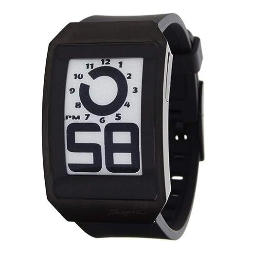 Phosphor DH04 - Reloj de Pulsera Hombre, Caucho, Color Negro: Phosphor: Amazon.es: Relojes
