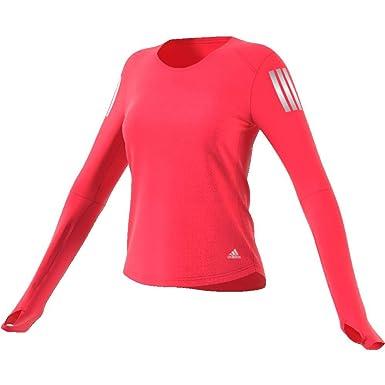 new high first rate huge sale adidas Own The Run Long Sleeve Tee Women T-Shirt, Damen ...