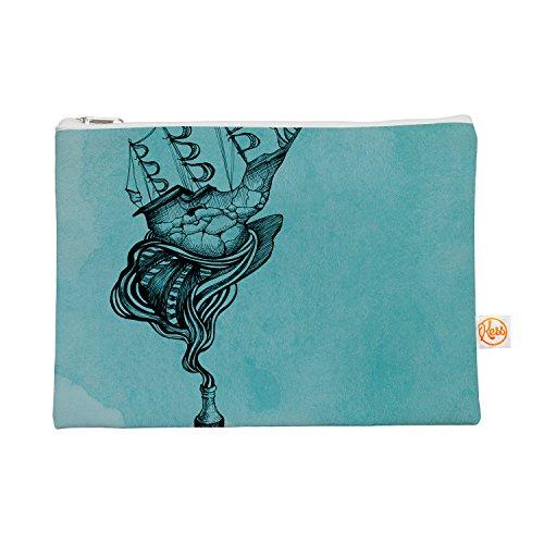 Kess eigene 12,5x 21,6cm Graham Curran All Aboard Blaugrün Alles Tasche