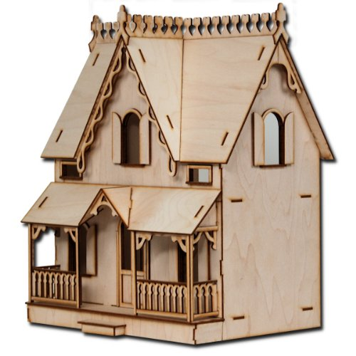 "Half Scale Arthur Laser Cut Dollhouse Kit 1/2"" Scale"