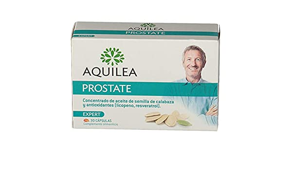 Amazon.com: Aquilea Prostate 30 Capsules - Contains Natural Ingredients & Antioxidant Properties - Improves Your Well Being - Improve The Condition of The ...