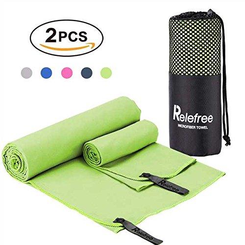 Relefree 2PCS Microfiber Towel(Newest Corner), 60