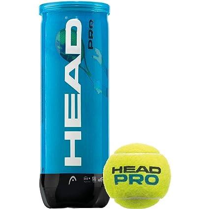 Head, pelota de tenis, ATP, 5 Botes cada uno con 3 pelotas: Amazon ...