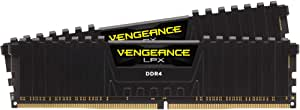Corsair Vengeance LPX 16GB (2x8GB) DDR4 3200MHz C16 Desktop Gaming Memory Black 16-18-18-36 1.35V XMP 2.0 Supports 6th Intel® Core™ i5/i7