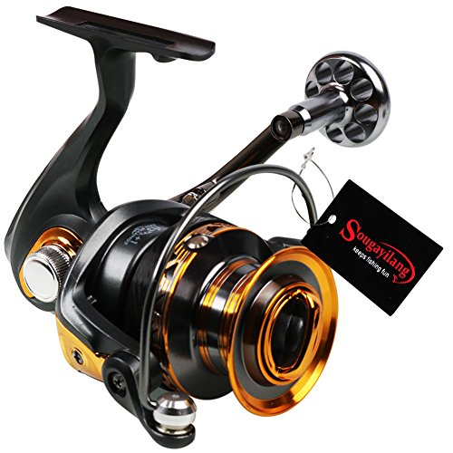 Top 10 best ice fishing reels 13 best of 2018 reviews for 13 fishing fate black