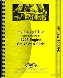 caterpillar 3208 engine service manual jensales ag products rh amazon com cat 3208 diesel engine parts manual 3208 Cat Engine Oil Cooler