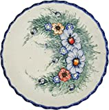 Polish Pottery Pie Plate or Quiche Baker Unikat Eva's Collection