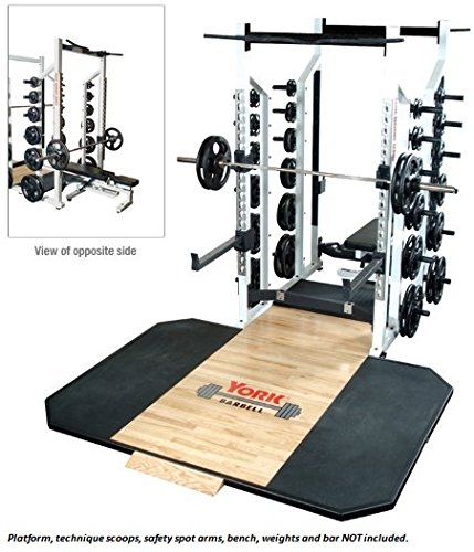 York ST Double Half Rack by Ironcompany.com