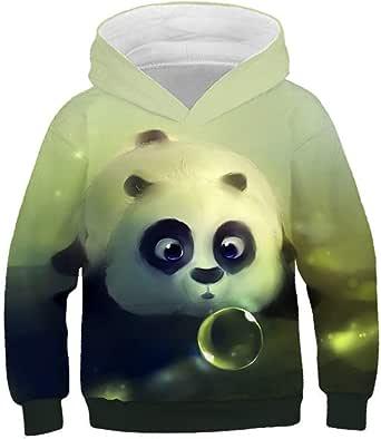 Belle Panda del Animado en 3D de impresión Sudaderas con ...