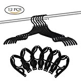 12 PCS Portable Folding Clothes Hangers Foldable Clothes Drying Rack for Travel