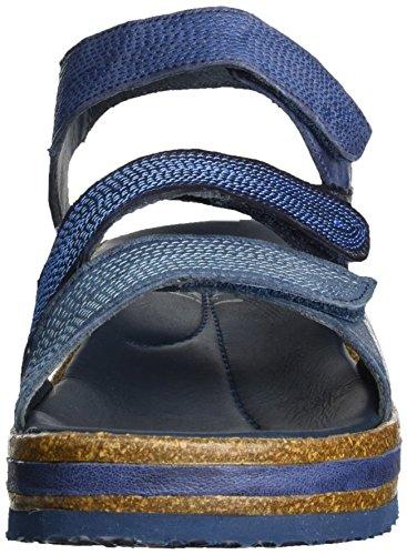 Pensare! Donne Zega Sandali Romani Blu (zaffiro / Kombi 90)