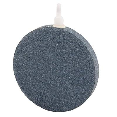 Sarissa Air Stone Bubble Mineral, 4-Inch Airstones Diffuser Air Stone Bubble Diffusers for Aquarium Fish Tank Hydroponics Air Pump
