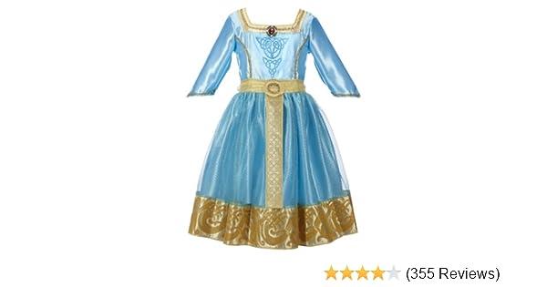0bf7ba21f882 Amazon.com  Disney Princess Brave Merida Royal Dress  Clothing