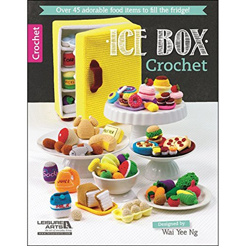 Leisure Arts Leisure Arts Books, Ice Box (Crochet Boxes)