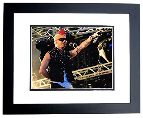 Jared Leto Signed - Autographed 30 Seconds to Mars Lead Singer - Actor 11x14 inch Photo BLACK CUSTOM FRAME