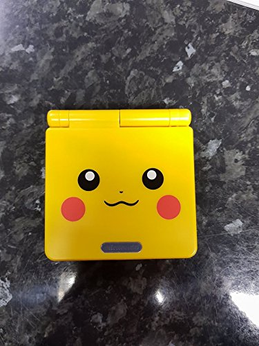 (Nintendo Gameboy Advance SP: Limited Edition Pikachu Yellow)