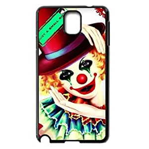 WJHSSB Customized Print Clown Hard Skin Case Compatible For Samsung Galaxy Note 3 N9000