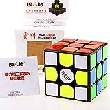 CuberSpeed New QiYi Thunderclap V2 3x3 Black Magic cube MoFangGe Leishen qiyi Thunderclap 3x3 V2 3x3x3 speed cube puzzle