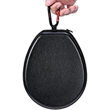 Kinzd Headset Case Bag for LG Tone Pro HBS 700 730 750 760 800 900 - Headphone Carrying Case Cover Box for LG Electronics Tone Infinim Wireless Bluetooth Earbuds - Black PU Leather