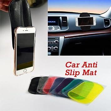 pegatina Accesorios Automóvil Interior del coche Anti Slip Mat para el teléfono móvil / MP3 / MP4 / GPS / Pad: Amazon.es: Coche y moto