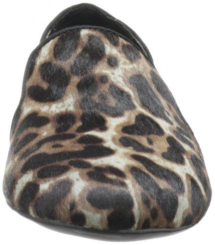 Franco Sarto Womens Zahara Flat Grey Leopard 4w9zFlz7gm