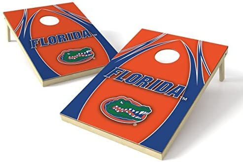 Wild Sports NCAA College Florida Gators 2' x 3' V Logo Cornhole Game Set [並行輸入品]