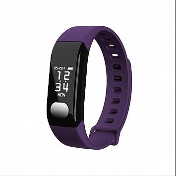 Bluetooth Deporte Smart Watch Frecuencia Cardíaca cálculo ...