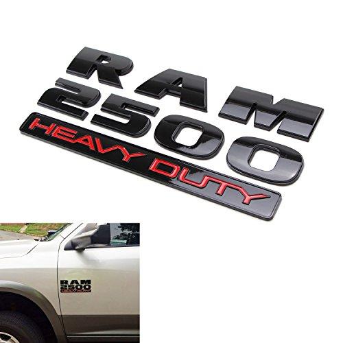 2012 dodge ram 1500 black emblems - 5