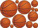 36 Basket Ball Wall Decor Art Stickers Decals Vinyls