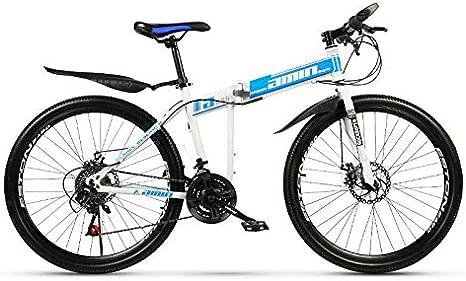Bicicleta de montaña plegable de 26 pulgadas de velocidad ...