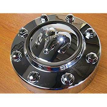 Image of Center Caps Dodge Ram 3500 Dually Chrome Front Center Hub Cap Wheel Cover Mopar OEM