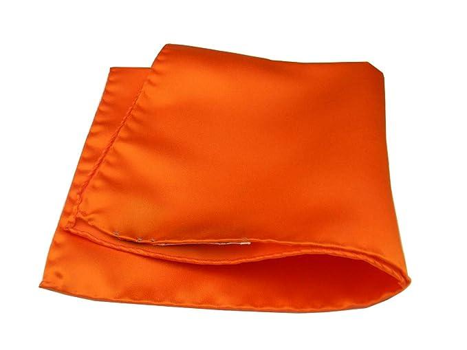 4672f1c4d2 Avantgarde - Fazzoletto da Giacca Uomo Pochette da Taschino Tinta Unita  Tanti Colori M Italy, Colore: Arancio: Amazon.it: Abbigliamento