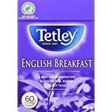 Tetley English Breakfast Tea, 60 Count