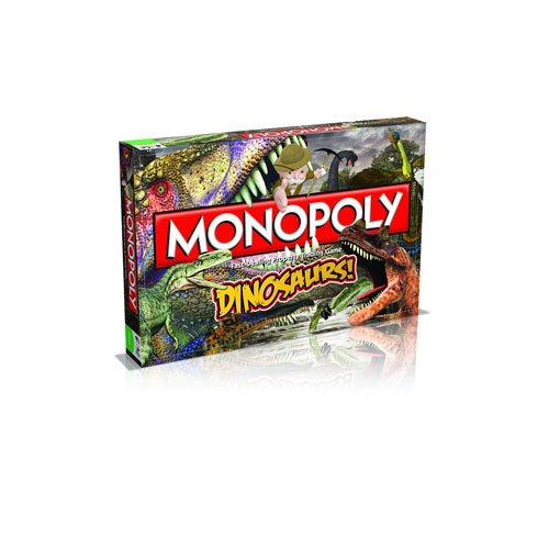 Dinosaur Monopoly - Winning Moves Games Dinosaurs Monopoly Board Game
