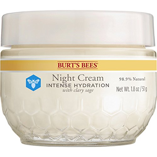 51kHqJ7FNFL - Burt's Bees Intense Hydration Night Cream, Moisturizing Night Lotion, 1.8 Ounces