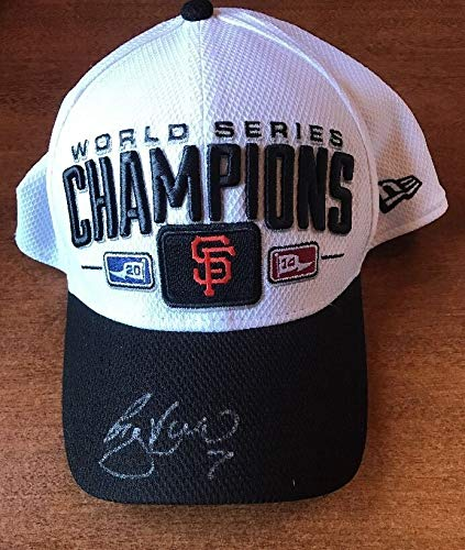 Gregor Blanco Autographed Signed 2014 World Series Champions Hat JSA Authentic