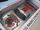 Nikko (Japan) Silver/Red Porsche 911 GT1 Wilkinson Sword Radio Control 1:14 NIB