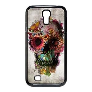 VNCASE Sugar Skull Phone Case For Samsung Galaxy S4 i9500 [Pattern-1]