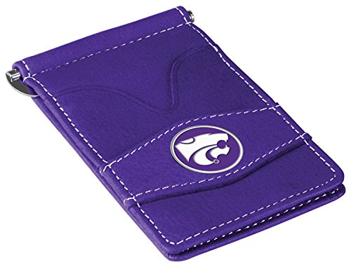 NCAA Kansas State Wildcats Players Wallet, Purple One Size
