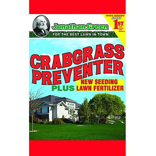 Jonathan Green 10465 Crabgrass Preventer Plus New Seeding Lawn Fertilizer, 15 lbs. ()