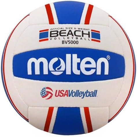 MOLTEN Elite Voleibol de Playa, Mujer Unisex Infantil Hombre, Rojo ...