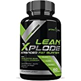 Schlank Xplode Weight Loss Pills for Women and Men That Work - Thermogenic, Appetite Suppressant & Energy Booster containing Garcinia Cambogia, Green Coffee Extract, Raspberry Ketones