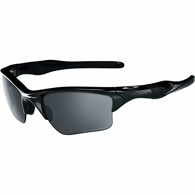 e5cffba29f Oakley - Occhiali da sole Half Jacket 2.0 XL 9154 SOLE Rettangolari, Uomo, POLISHED  BLACK/BLACK IRIDIUM POLARIZED/Black Iridium Polarized (S3): Oakley: ...
