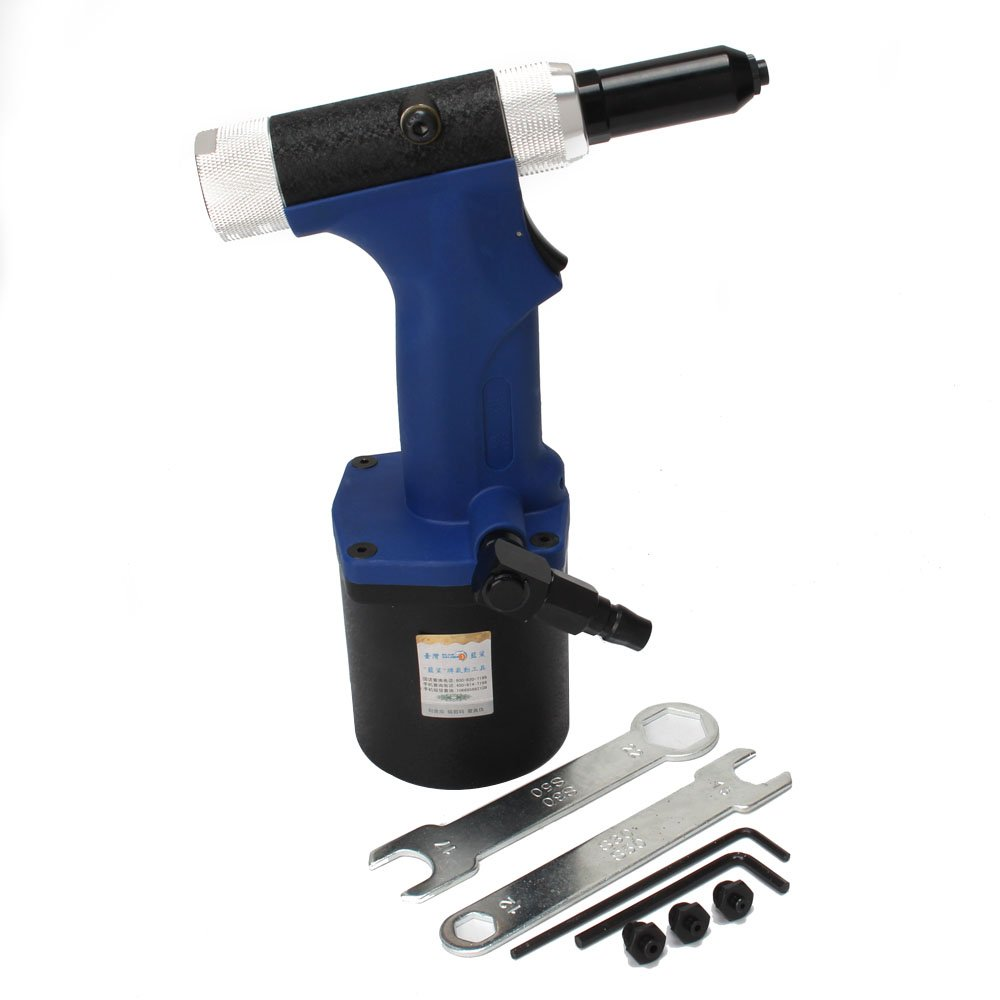 Professional Air/Hydraulic Rivet Gun Four nose Riveting Tool Air Power Tool B316-15