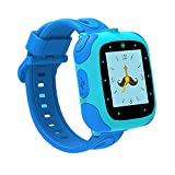 Kiddie Watch USB Powered Smartwatch 1.5inch Touch Screen, Blue (Included 1 Lego Water Bottle)