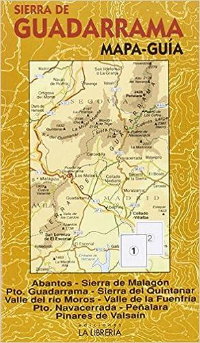 Sierra de Guadarrama. Mapa-guía: Mapa topográfico. Ámbito del ...