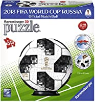 Ravensburger 12437 Matchball 2018 Puzzle en 3D de la Copa Mundial ...