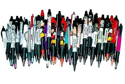 Wholesale 144 Misprint Plastic Retractable Pens Click Here For Enlarge Image